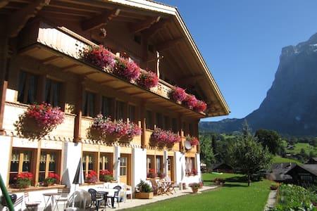 Zimmer mit Frühstück, BERGSICHT - Grindelwald - Szoba reggelivel