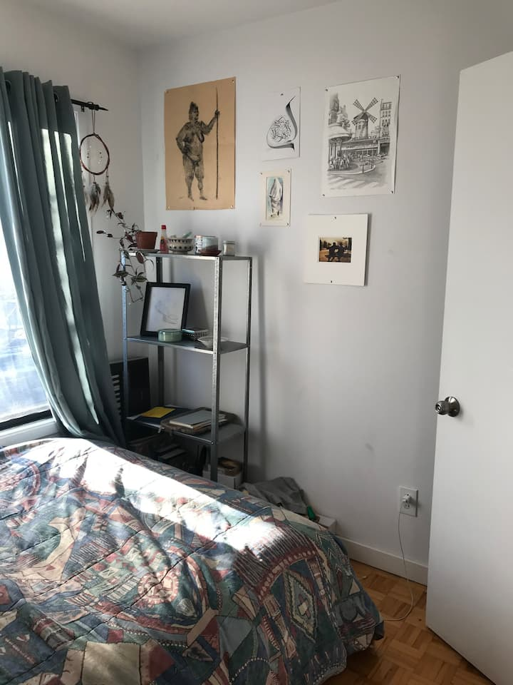 Appartement urbain et coloré