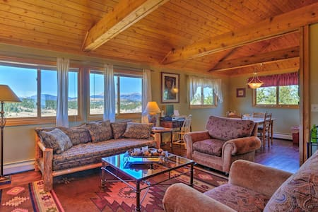 Ranch of the Rockies Cabin on 4 Acres w/Mtn Views!