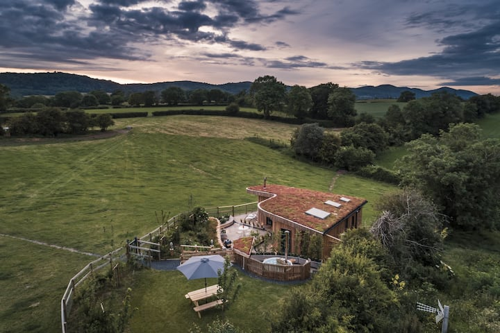 Malvern Hills Lodge, stunning glamping experience