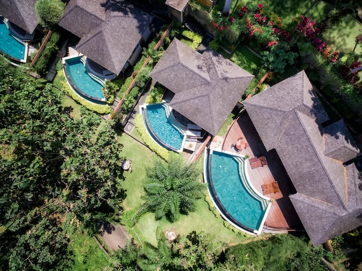 Peacefully 2BRV Villa Family with Infinity Pool