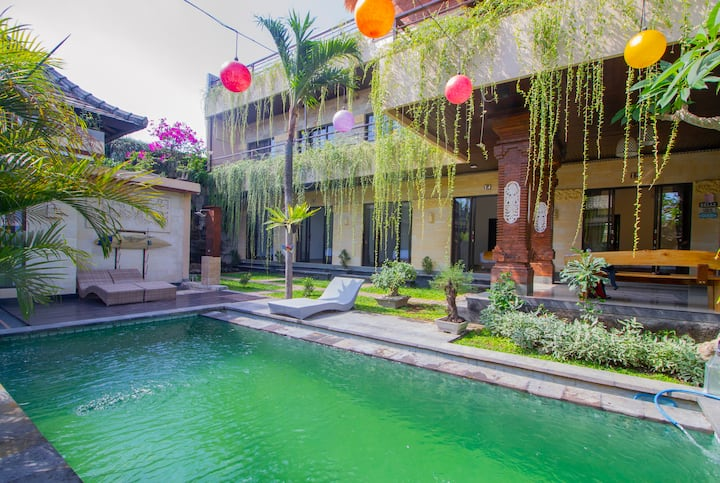 Comfy Guesthouse 5mins from Berawa Beach
