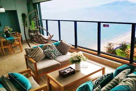 双月湾海之兰双房双浴豪华海景度假公寓