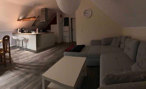 Apartament na poddaszu w Rödemis