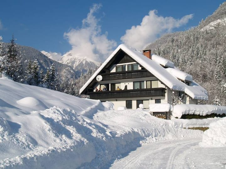 LAKE BOHINJ-MAVRICA-Trig Nat Park-6pers.2 bedrooms