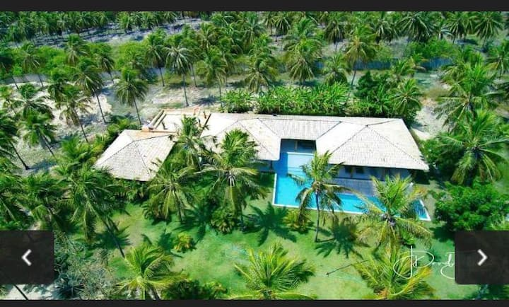 Exclusiva Villa de lujo en la playa de Maracajaú