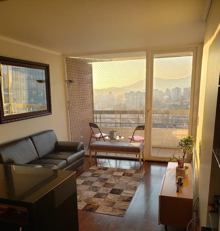 Lindo departamento en exclusiva zona de Santiago