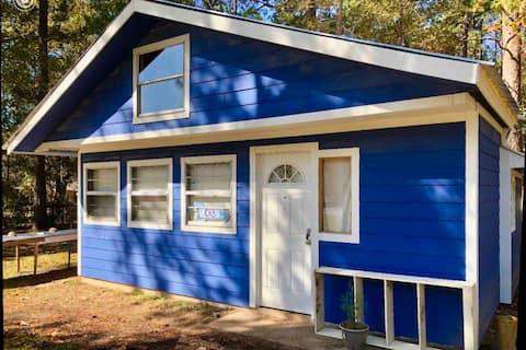 Sam Rayburn Blue Fishing Cabin