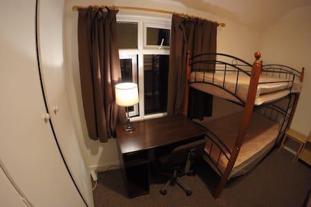 Host Friends | Male bedroom