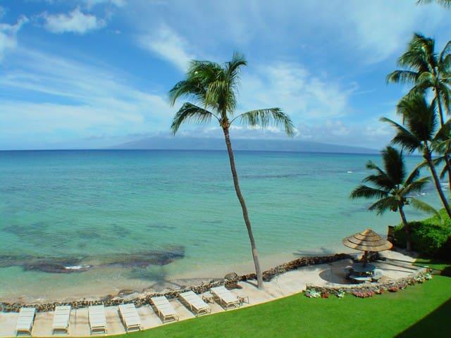 Recently Remodeled! Direct Ocean Views! #313 Kal - Lahaina - Lägenhet