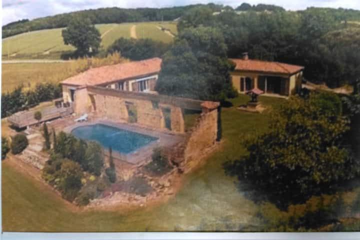 Le Château: chambre d'hôtes  en Pays de Gascogne