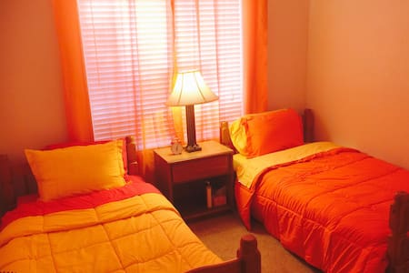 Red Orange Yellow  Guest Room - Henderson