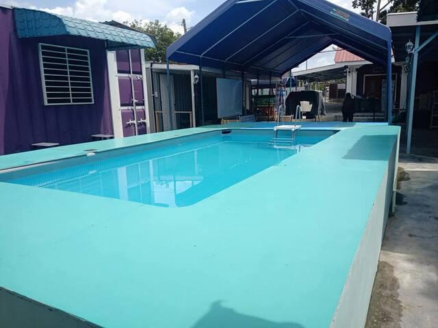 Pool Chalet - 4 Pax @ Chalet Teratak Tuan Muda