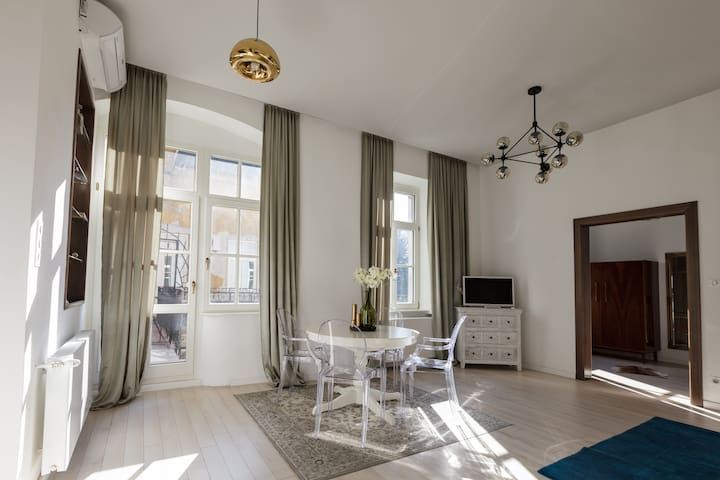 Baross Boutique Apartman with balcony - Győr - Lägenhet