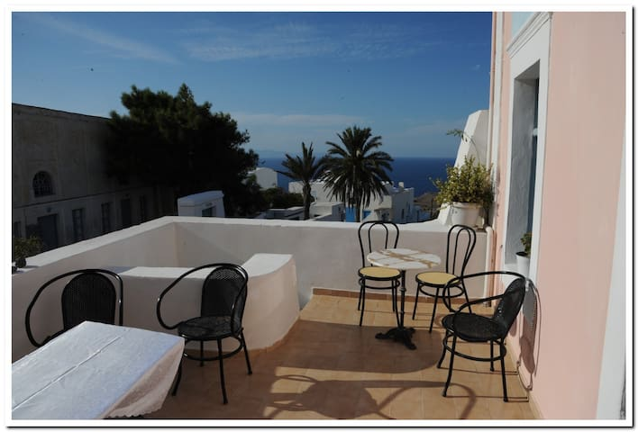 Marcos Rooms-Double- Twin Private - Thira - Wikt i opierunek