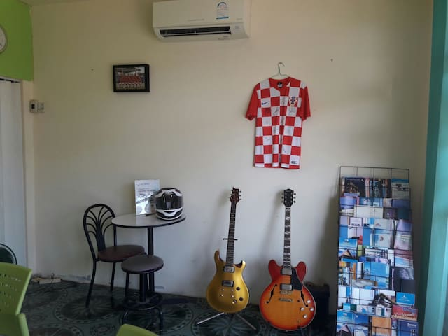 Room in the tour office