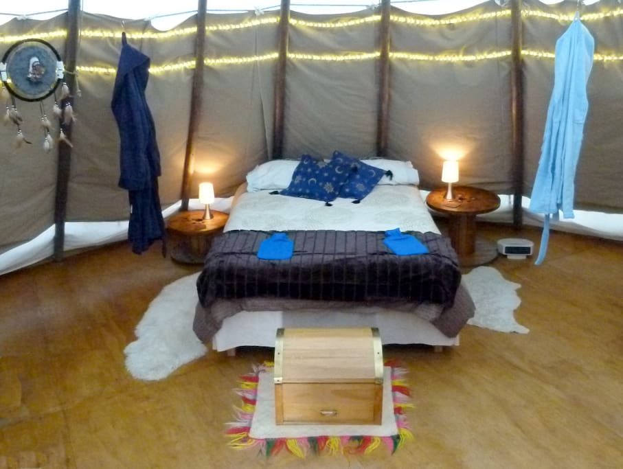 Tipi - double bed