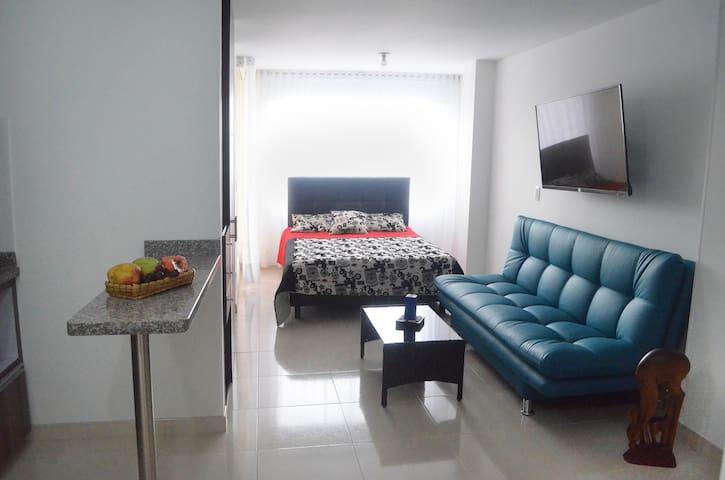 Studio-Apto, luminoso y cómodo en Chapinero.