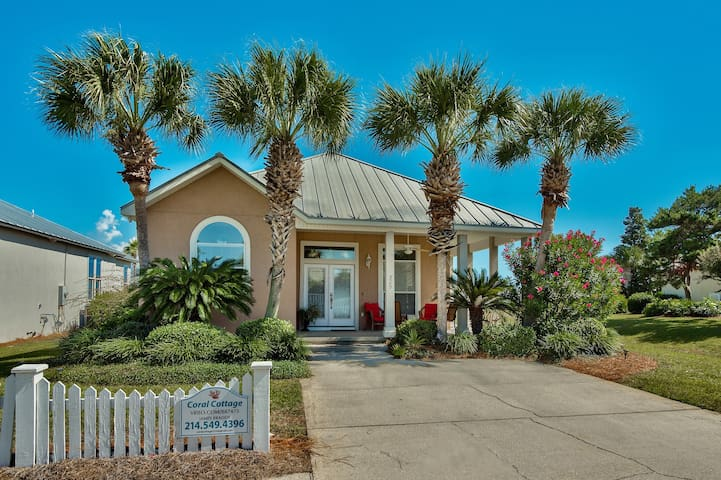 Coral Cottage Tropical Retreat - Destin - House