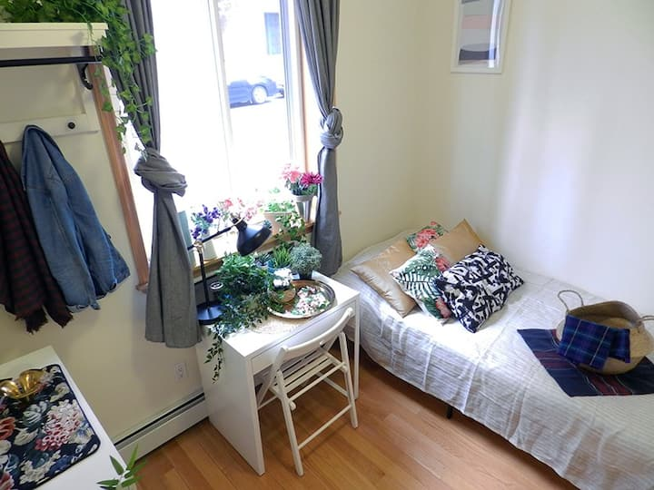 Shining Solo Room in Astoria. Wifi, Netflix, etc