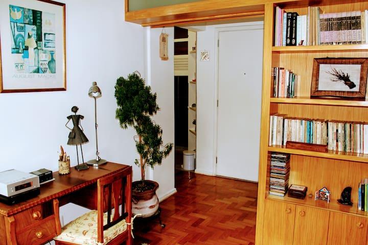 Room 1 (door opened)