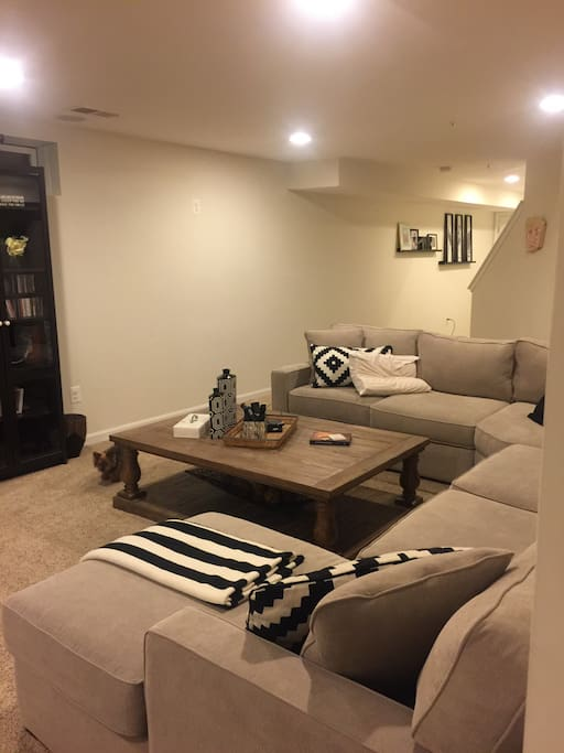 Theater/club room space