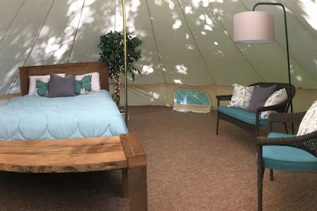 Yurt Glamping - Wooded Escape