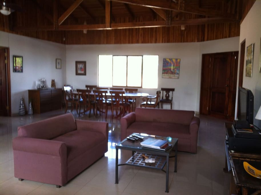Guests are free to use the living and dining room area, as well as the kitchen.