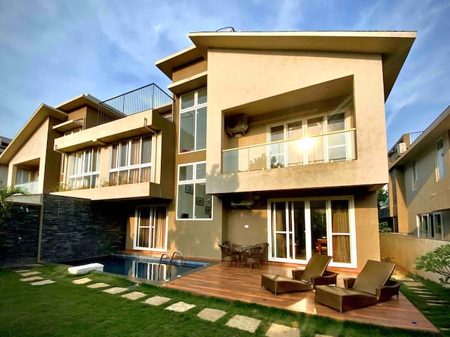 Luxurious 3BR with Private Pool in Anjuna