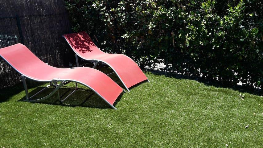 mazet T2 en provence, climatisé,jardin, piscine - Mouriès - Casa