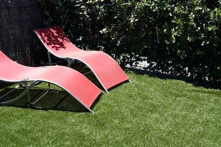 mazet T2 en provence, climatisé,jardin, piscine - Mouriès