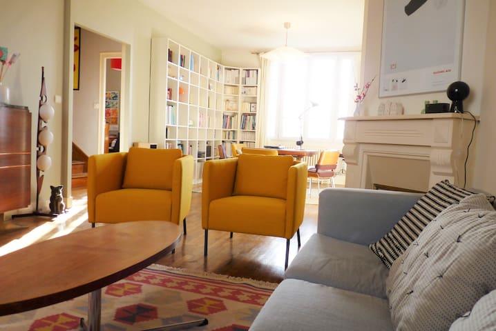Maison idéale pour famille et bébé - Quimper - Haus