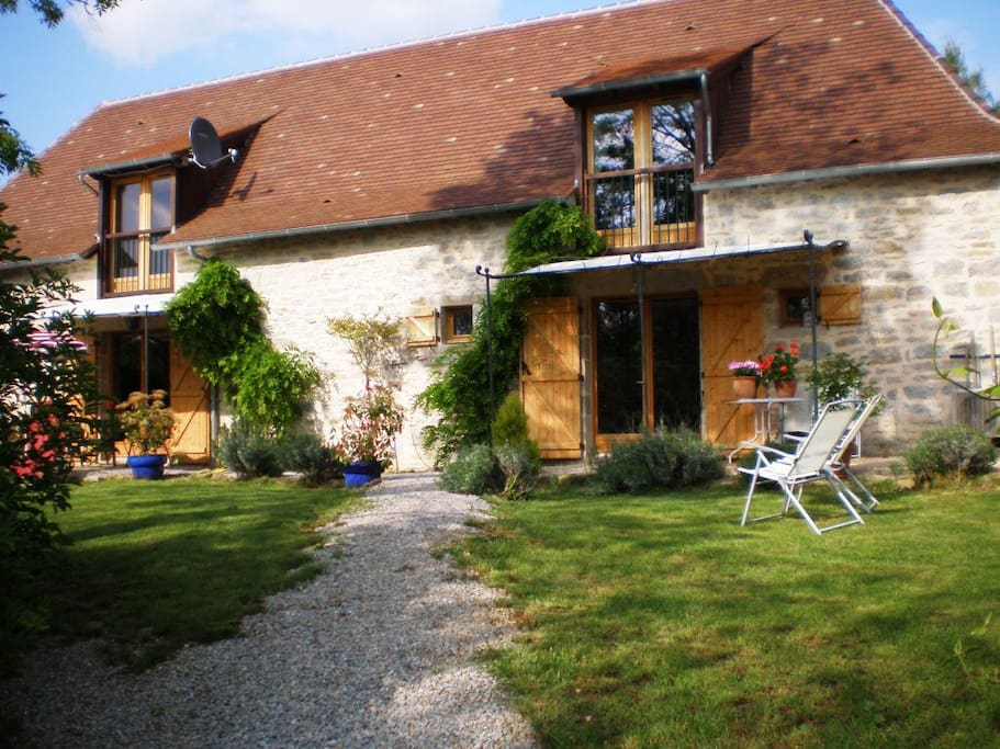 Deep in lovely french countryside houses for rent in for French countryside house
