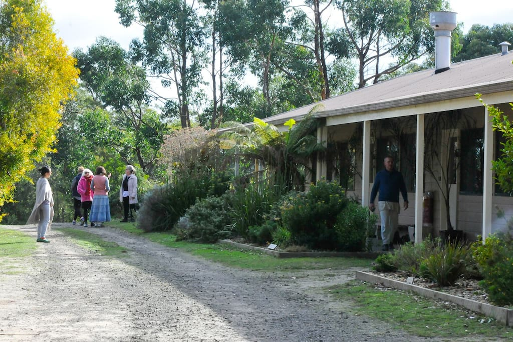 Our retreat centre