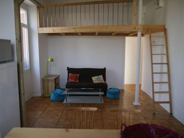 Appartement calme et lumineux, proche commodités