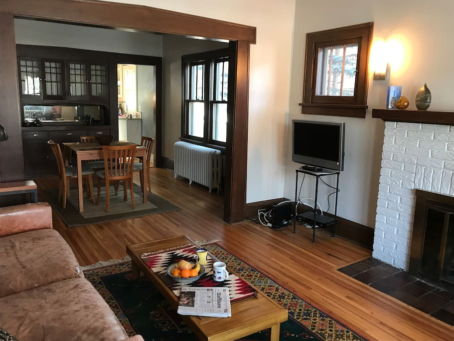 Main living / dining area