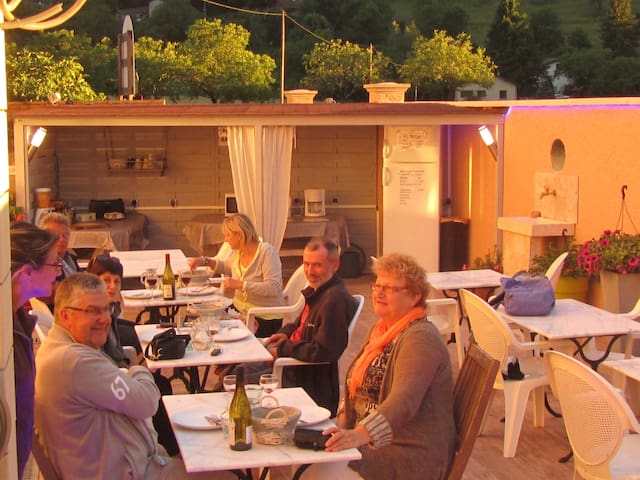 La Fontaine du Vercors - Saint-Thomas-en-Royans - Bed & Breakfast