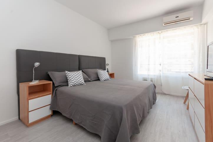 Habitación. Opción cama matrimonial