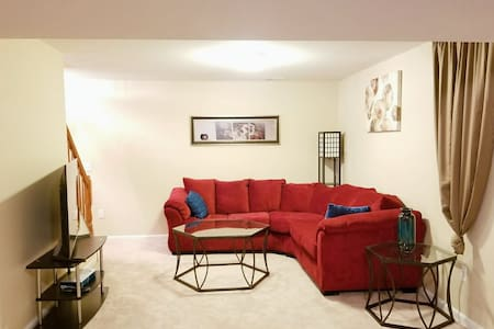 Large Private Basement Apartment!