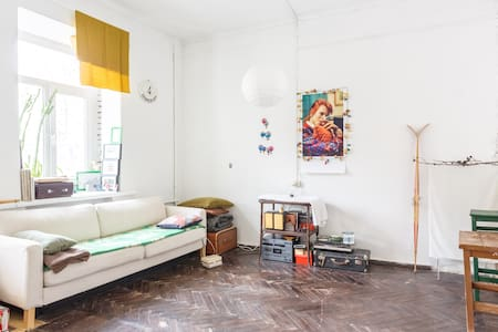 A quiet & cozy flat Moscow downtown - Byt