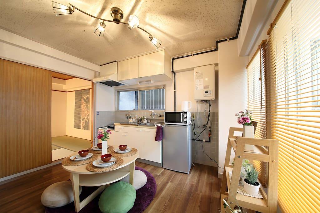 リビングキッチン Living Kitchen 生活廚房