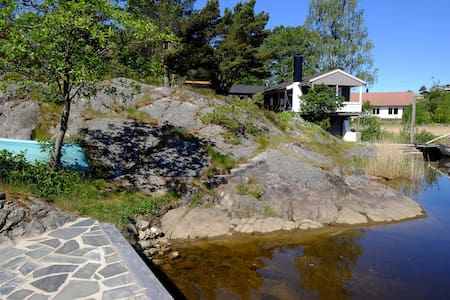 Arendal waterfront - Nedenes