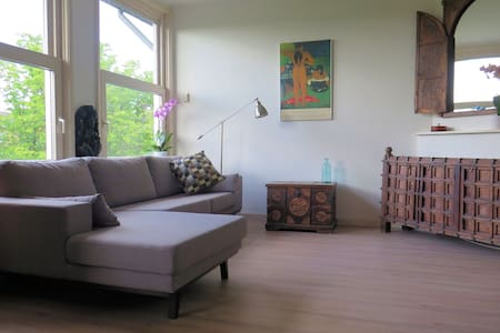 Luxury apartment with canal view - Amsterdam