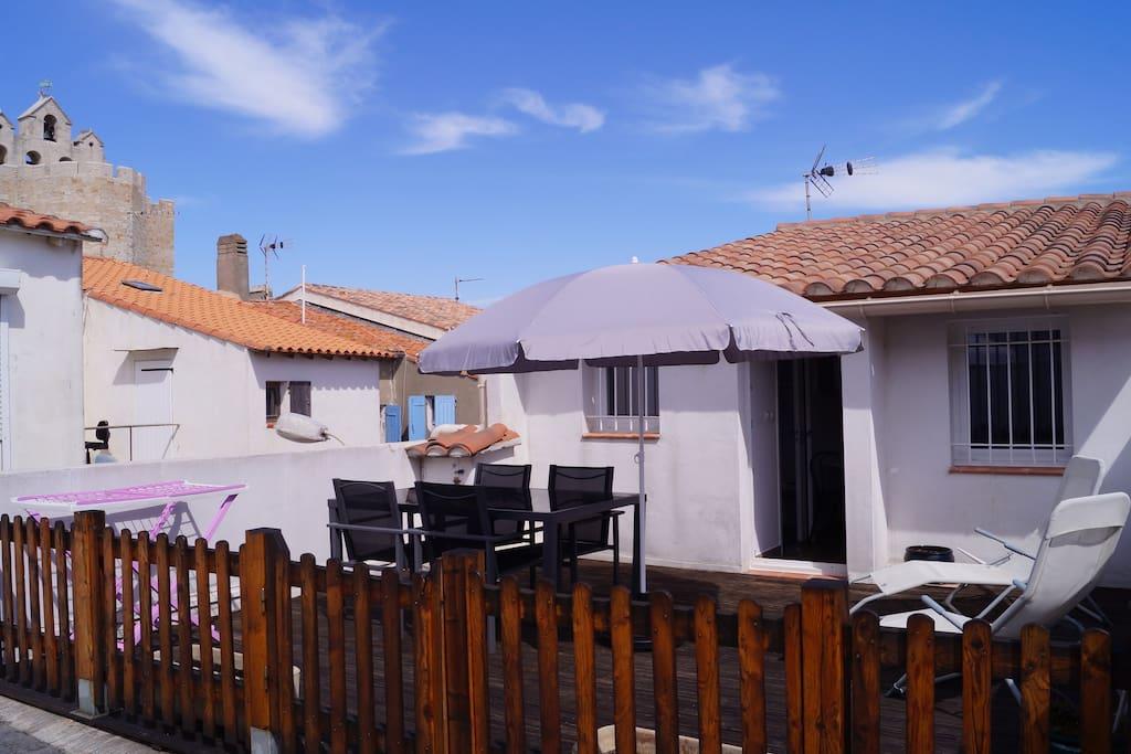 petite maison sur toit terrasse maisons de ville louer