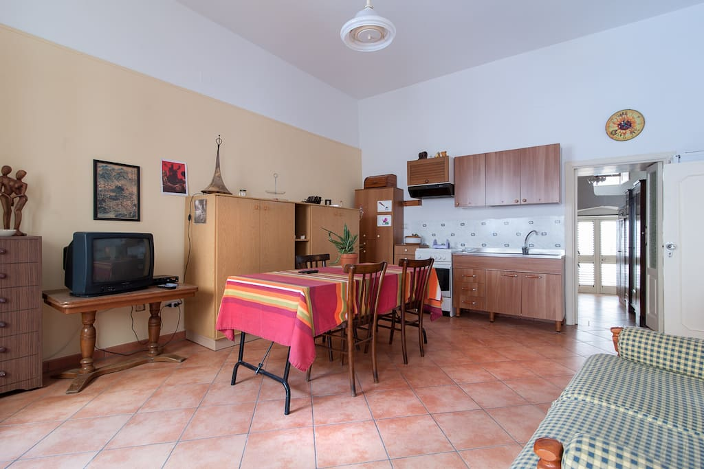 Zona living/cucina