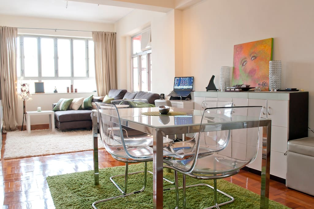 Cozy 2BR Harbour view Causeway bay