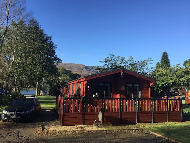 Lomond Lodge, Rowardennan - Scotland - Cabin