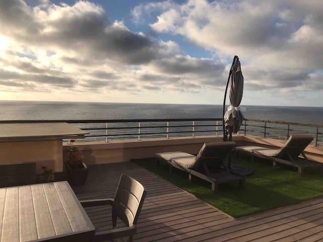 Appartement d'exception avec vue panoramique mer