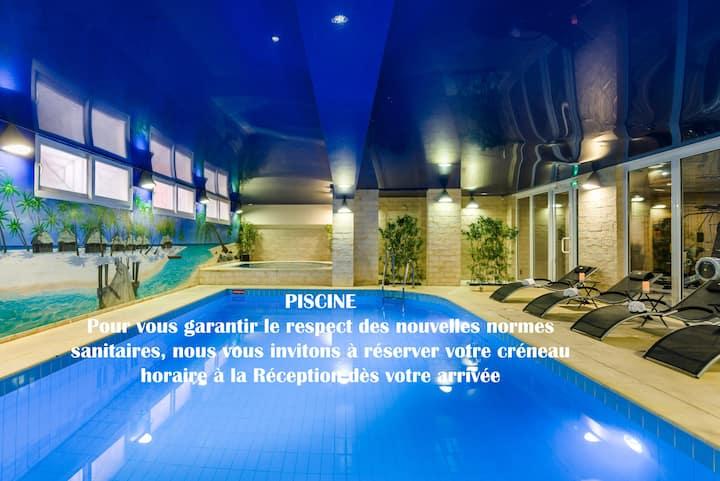 Hotel Spa Piscine Jacuzzi Fitness Sauna