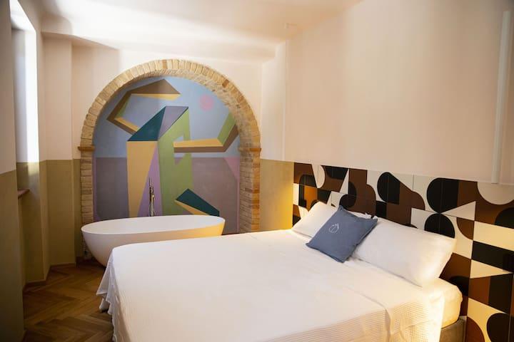 Cozy suite in a little castle in le Marche hills